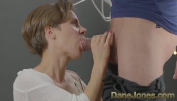 Brunette MILF India Summer takes a big cock